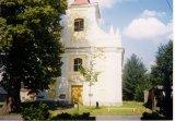 kostel sv. Michaela Archanděla ve Skryjích (před rokem 2000)